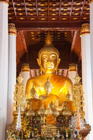 Wat Phra That Chae Haeng, Nan province, of Thailand Stock Photo