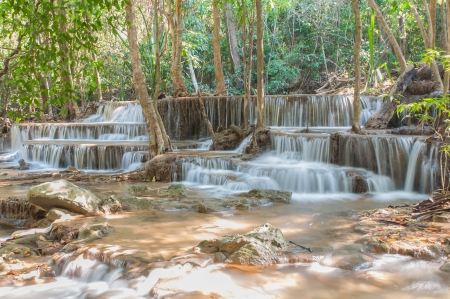 beck: Waterfall  Huay Mae Kamin Kanchanaburi of Thailand