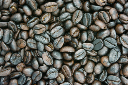 brown coffee texture background and close up photo