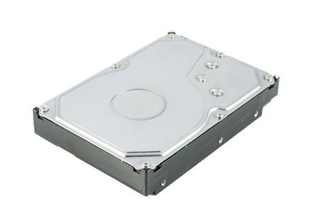 Hard disk drive (HDD) isolate on white  Stock Photo - 25641369