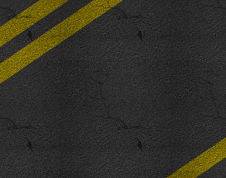 Asphalt highway road texture with markings background photo