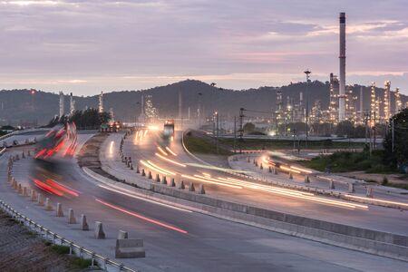 Camion contenitore per il trasporto sulla strada per il porto, Porto commerciale, il trasporto, il trasporto