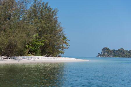 thailand beach: Island tropical Andaman shores at Thailand beach