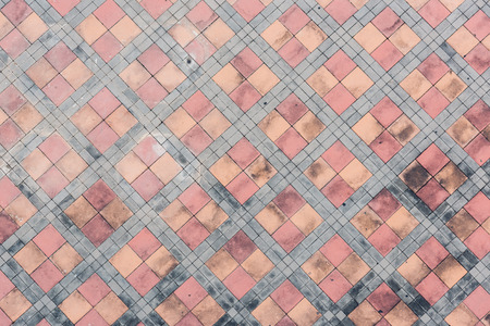 Top view outdoor texture sidewalk floor no body Stock Photo