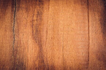 Old wood board, copy space wooden texture pattern background Standard-Bild