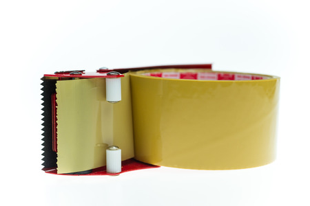 tacky: clear adhesive tape texture isolate on white background