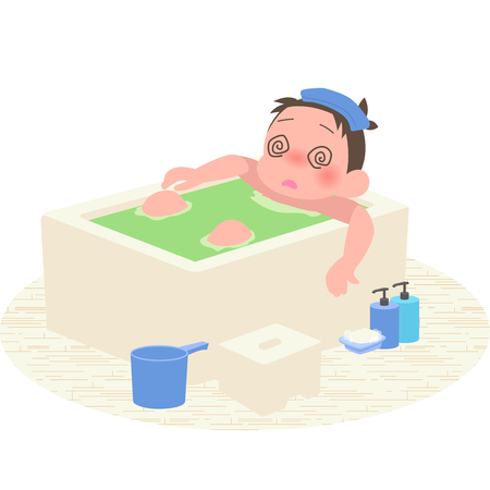 Man your head in the bath