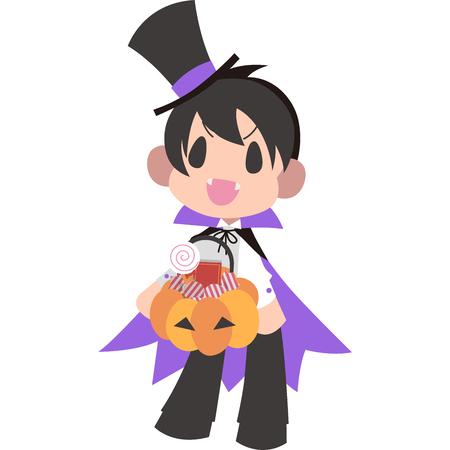 Boy Halloween fancy dress (Dracula)