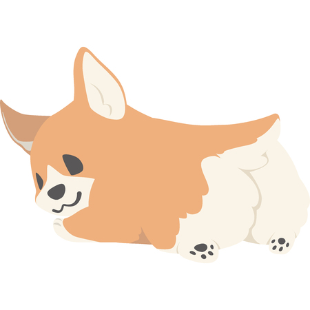 Turn your ass dogs (CORGI) 스톡 콘텐츠 - 102461662
