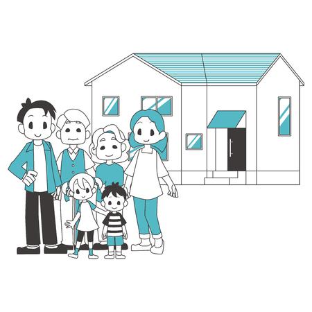 3 Vehículo residencial familiar del hogar
