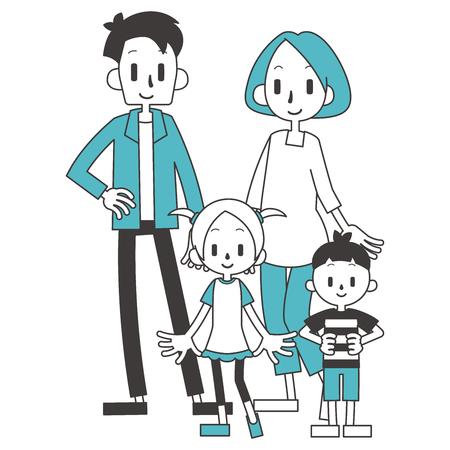 Familia 2 hogares