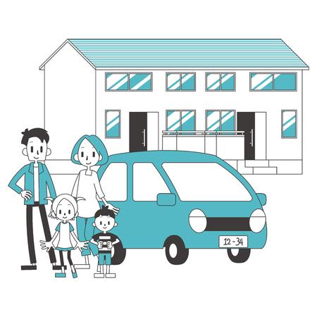 2 Vehículo residencial familiar para el hogar
