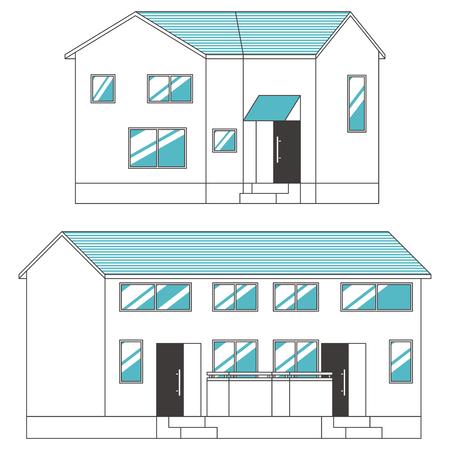House Apartment Set