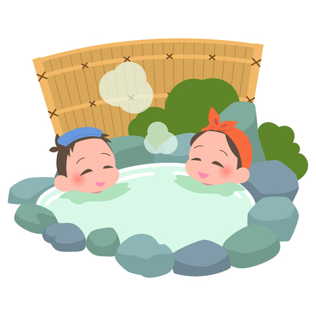 Open-air bath mixed gender