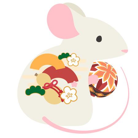 Mice with temari