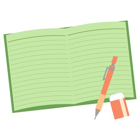 Open Green notes and writing tools