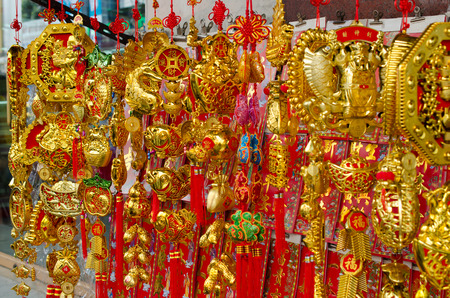 amulet: chinese amulet Stock Photo