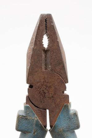 rusty: rusty pliers Stock Photo