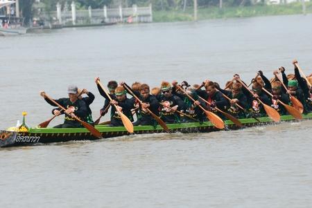 Longboat racing Traditional Culture ,Nonthaburi,Thailand Stock Photo - 15317715