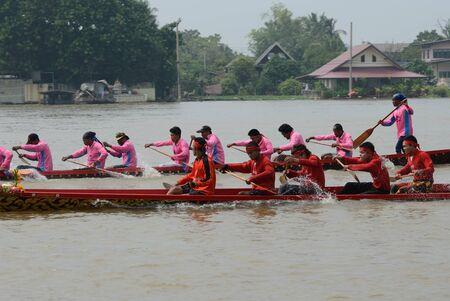 Longboat racing Traditional Culture ,Nonthaburi,Thailand Stock Photo - 15317714