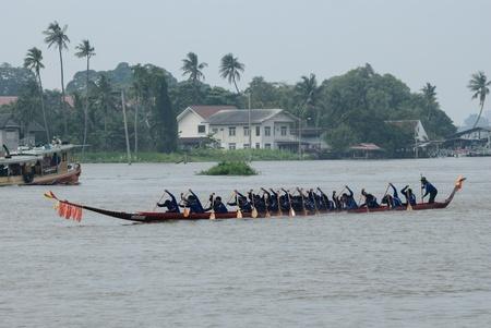 nonthaburi: Longboat racing Traditional Culture ,Nonthaburi,Thailandd