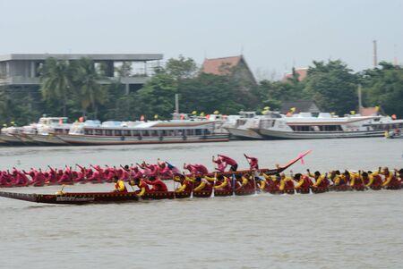 Longboat racing Traditional Culture ,Nonthaburi,Thailand Stock Photo - 15317722