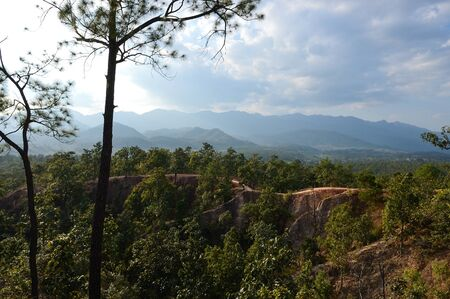 Pai Canyon in Pai, Thailand.