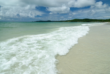 The Beutiful beach at Samed island Rayong Province ,Thailand
