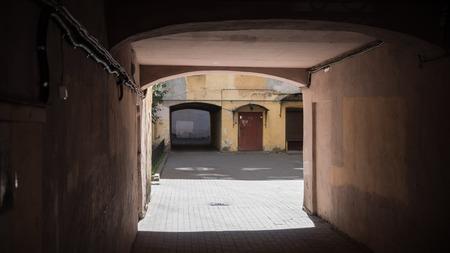 st: Passage yard of St. Petersburg