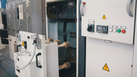 Industrial equipment - electronic apparatus - high-tech object