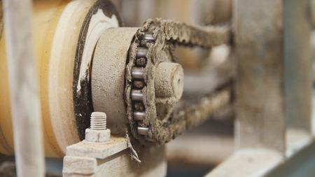 회전 체인 기어 - 산업 기계의 일부 - 제조