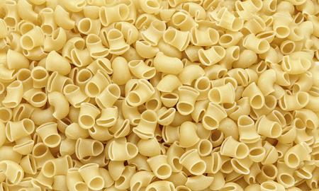 Italian paste - macaroni snail conquelioni - food grocery Stok Fotoğraf