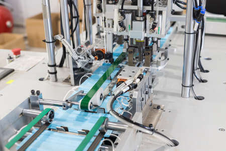 Production of medical masks - medical mask development machine