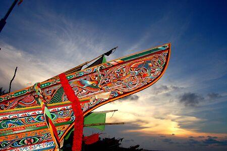 southern thailand: kole boat