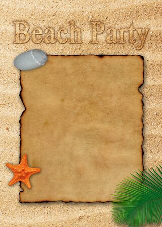 Beach Party Illustration