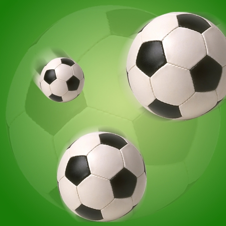 Soccer Ball Football Illustration Stock Photo