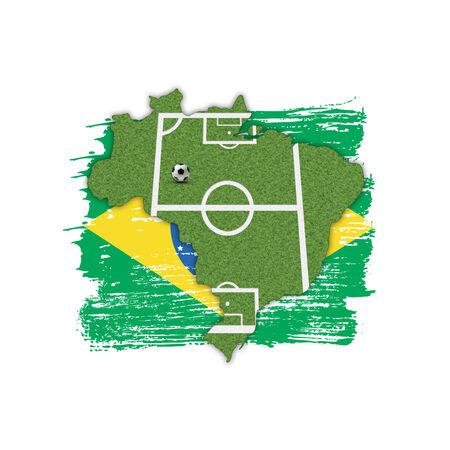 uefa: Homeland Soccer Football Brazil
