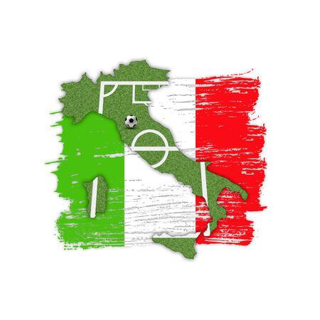 uefa: Homeland Soccer Football Italy Stock Photo