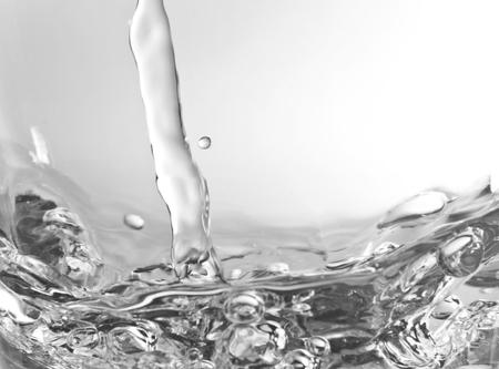 molecula de agua: El agua es un compuesto qu�mico con la f�rmula qu�mica H 2O Una mol�cula de agua contiene un ox�geno y dos de hidr�geno