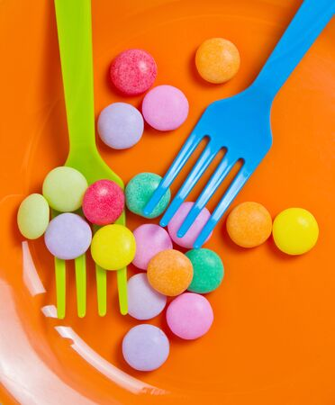 Colorful of Candy toy set  photo