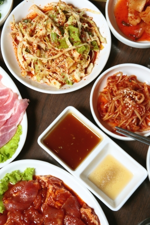 kimchi , korean food , korean barbecue side dish photo