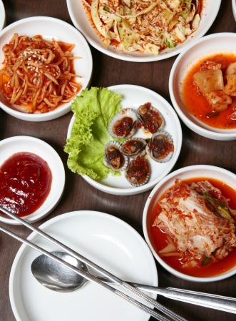 Korean cuisine as a national cuisine known today has evolved through centuries of social and political change
