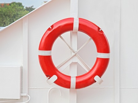 life saving: life saving buoy