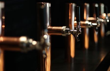 Beer tap array amber