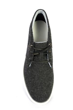 shoelaces: black sport and fashion shoes isolated white background