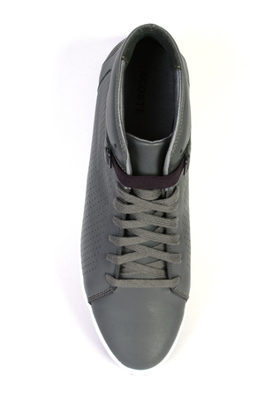 gray sport and fashion shoes photo