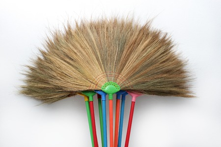 colorful broom texture