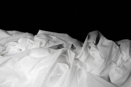 Creased White Cloth texture.
