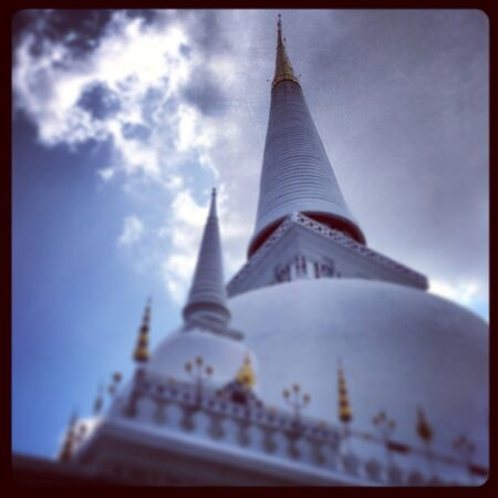 southern of thailand: Wat Phra Borommathat Chaiya in southern Thailand