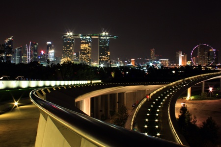barrage: Marina barrage Singapore